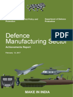 Defence Manufacturing Sector - Achievement Report.pdf