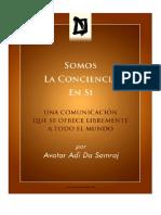 La Conciencia en Si Adi Da Samraj PDF A4