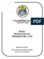 BUKU PENGGUNAAN PROJRKTOR DAN LCD.docx