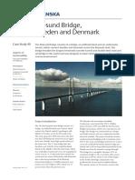 Oresund Bridge Denmark