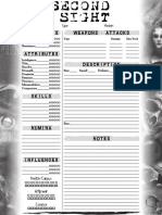 Familiar Sheet