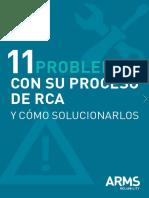 11problemas y Su Proceso Rca Como Solucionarlos