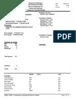 Parecer - Da Comissão Especial Dcr 1-2015
