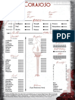 Ancient Bloodline - Corajoso Sheet