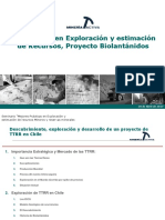 4 - Experiencia Exploración y Estimación Recursos Proyecto Biolantánidos - A.susaeta - Minería Activa
