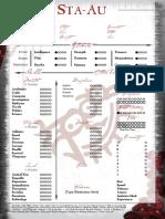 Ancient Bloodline - Sta-Au Sheet