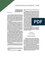 Decreto 106-2009 de 28 de julio Función Directiva