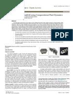 Analysis of Exhaust Manifold Using Computational Fluid Dynamics Fmoa 1000129