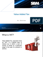 VAT - Brief Overview