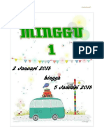 Divider Mingguan 2018 Kumpulan b