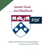 Domestic Guest Student Handbook 2017 2018 0