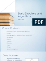Data Structures and Algorithms - Lecture 1 - Arrays