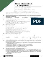 P-Block Elements & Compounds - 6