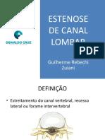 Estenose de Canal Lombar - Piracicaba