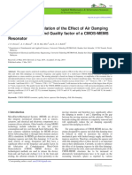 Modelling and Simulation of the Effect of Air Damping.pdf