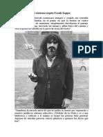 El Sistema Según Frank Zappa