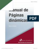 Manuales de Páginas Dinámicas