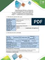 Guía de Actividades y Rúbrica de Evaluación -
