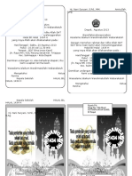 Undangan Halal Bil Halal 2013