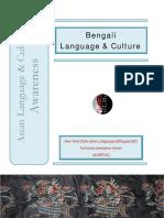 Bengali Cultural Awareness Revised 122014