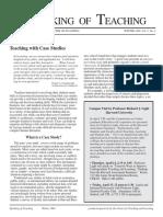 Teaching with Case Studies.pdf
