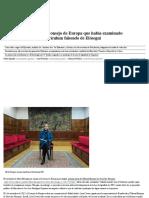 """El Gobierno Trasladó Al Consejo de Europa Que Había Examinado """"Cuidadosamente"""" El Currículum Falseado de Elósegui"""