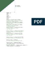 Matlab Script for Wing Loading
