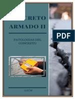 Concreto Armado II - Patologias Del Concreto