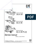 CAT Delta 30, 90 X-Ray - Service Manual