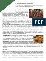 Decripcion Cosmogonicas de Las Culturas de Guatemala