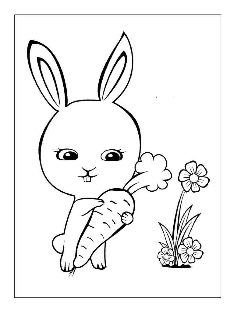 Mewarnai Kelinci