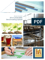 2016 Brewers Association Sustainability Benchmarking Update