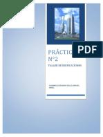 practica nr2 taller de edificaciones UNI
