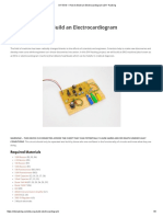 How to Build an Electrocardiogram
