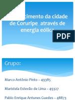 Abastecimento Coruripe Energia Eólica
