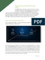 How PCM Saves Energy