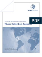 Tobacco Control Needs Assessment