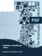 Validação e Qualificação_Estacio