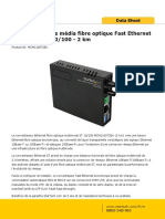 Convertisseur ETH Vers FO MCM110ST2EU_Datasheet-FR