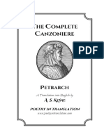 Complete Canzoniere, The - Petrarch & a. S. Kline