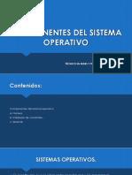 Componentes Del Sistema Operativo_Clase2