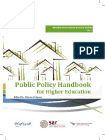HB - 2014 - Bucareste - HandBook Public Policy - Education