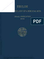 Finkelstein I Etal 1993 Shiloh - The Archaeology of a Biblical Site