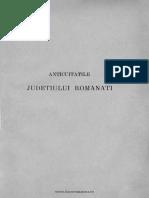 A.I.odobescu - Anticuităţile Judeţiului Romanaţi
