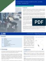 Matriz de Seguimiento de Desplazamiento OIM Perú Monitoreo de Flujo de Migración Venezolana