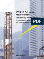 IFRS 13 RE Fair Value Measurement