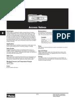 Parker Access Valves