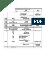 Programa de Desfiles de Grupos Pequeños 2018