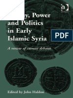 Money Power and Politics in Early Islamic Syria a Review of Current Debates