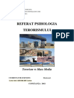 Terorism vs Mass Media